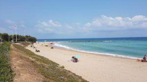 La platja Fora del Forat torna a estar oberta al bany
